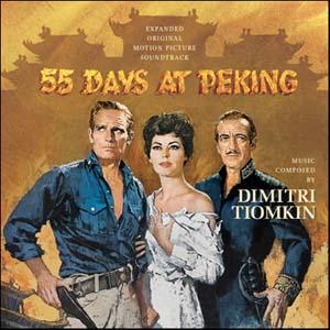 55 DAYS AT PEKING – Dimitri Tiomkin | MOVIE MUSIC UK