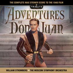 THE ADVENTURES OF DON JUAN – Max Steiner   MOVIE MUSIC UK